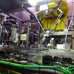 ロボット組立検査ライン